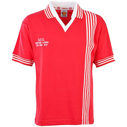 Aberdeen 1976 League Cup Final Retro Football Shirt