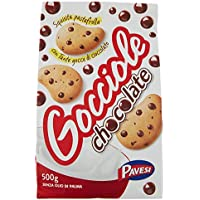 Pavesi Biscotti Frollini Gocciole Chocolate - 500 gr