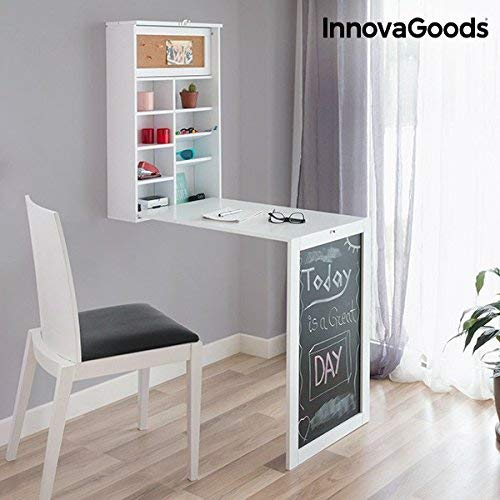 InnovaGoods Escritorio Plegable de Pared