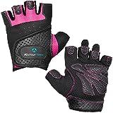 Fitnesshandschuhe »Aphrodite« / Damen Trainingshandschuhe für Workout Gewichtheben Bodybuilding schwarz/pink S