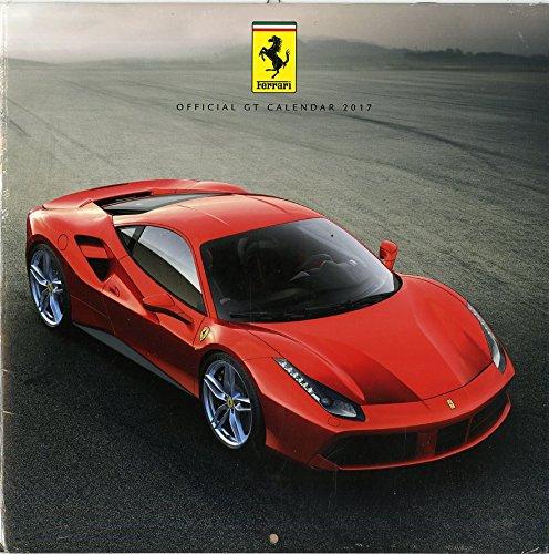 Ferrari Gt Calendar 2017 Square