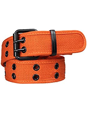 Sitong pasador de lona Casual hebilla de cintur¨®n ancho (10 colores)