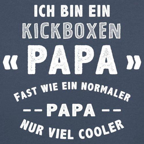 Ich bin ein Kickboxen Papa - Herren T-Shirt - 13 Farben Navy