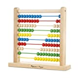 Count on years of learningCount on this wooden abacus for years of play and learning! The solid hardwood base and frame holds 10 thick coated wires with 10 colourful wooden beads on each - 100 beads in all. Slide the beads for a visual and hands-on w...