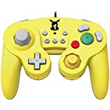 Official Nintendo Licensed Smash Bros Gamecube Style Controller for Nintendo Switch Pikachu Version