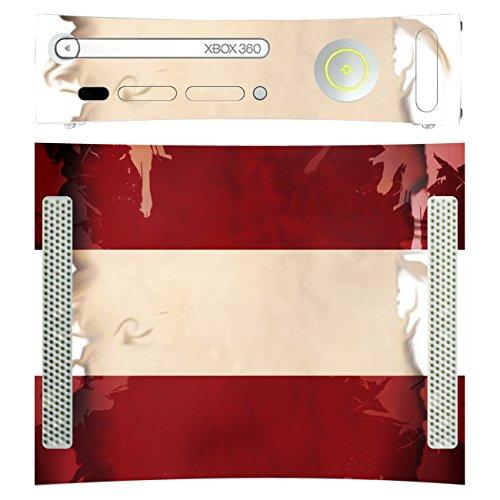 Disagu Design Skin für Microsoft Xbox 360 liegend Design Folie - Motiv Lettland
