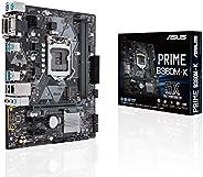ASUS Motherboard LGA1151 300 Series DDR4 DVI VGA M.2 mATX - Prime B360M-K