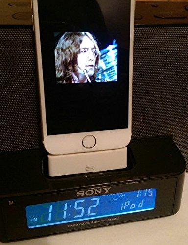 Lightning-Adapter für Sony-Traum-icf-c1ip Lautsprecher für iPhone 66S Sony Ipod Video