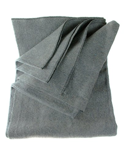 SE bi51802gr Warm 2-lb. Decke (129,5x 203,2cm) mit 50-70% Wolle, BI64847GR