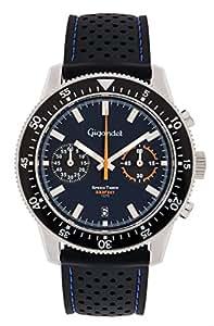 Gigandet Speed Timer Montre Homme Chronographe Analogique Quartz Bleu G7-002