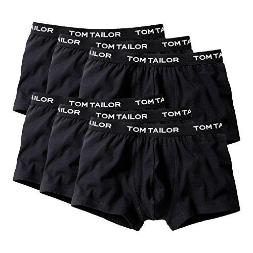 Tom Tailor Underwear Herren Retroshorts, 3er Pack black-black-black