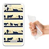 WoowCase Wiko Selfy 4G Hülle, Handyhülle Silikon für [ Wiko Selfy 4G ] Kuh Bauernhof Handytasche Handy Cover Case Schutzhülle Flexible TPU - Transparent