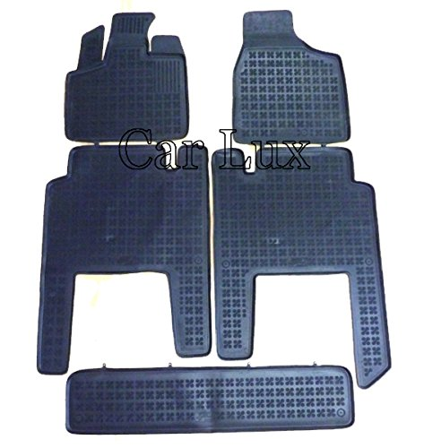 Car Lux Set di tappetini auto in gomma su misura per Chrysler Grand Voyager (dal 2006), modello a cestello 3D