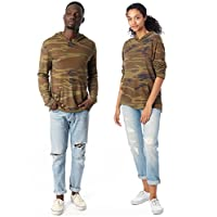 Alternative Men's Marathon Hoodie, Camo, Small