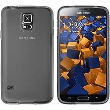 Carcasas Mumbi Samsung Galaxy S5 / S5 Neo Carcasa negro transparente