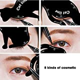 Frauen Katze Linie Augen Make-up Eyeliner Schablonen Vorlagen stilvolle Make-up-Tools