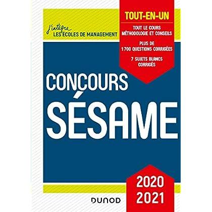 Concours Sésame 2020-2021 - Tout-en-un