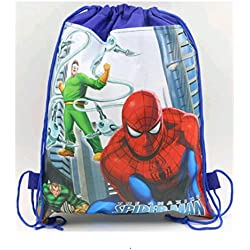 DELITE - cute kids Spiderman Super Hero mini bag backpack gift bag