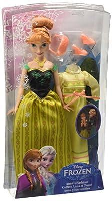 Disney Frozen - Muñeca, y sus vestidos