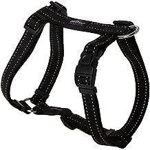 Rogz utilidad grande 3/4-inch Fanbelt reflectante ajustable perro h-harness