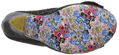 Irregular Choice Nick Of Time, Escarpins femme Black (Black New)