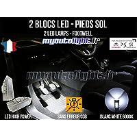 Módulos bloques Full LED iluminación de pies – Footwell – Citroen C4 Cactus