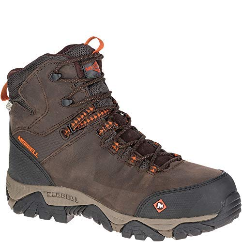 Merrell Phaserbound Mid Waterproof Comp Toe Work Boot Wide Width Comp Toe Boot
