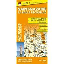 Plan de Ville de Saint Nazaire. la Baule Escoublac - Echelle : 1/13 500