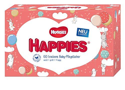 Huggies Happies Baby-Pflegetücher, 10 x 100 Tücher