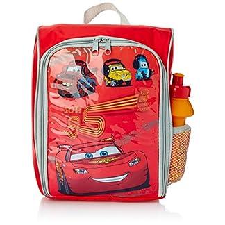 BBS Mochila Infantil para Comida + cantimplora, Estampado Cars, plástico isotermo, Centimeters