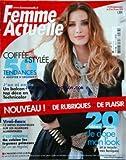 FEMME ACTUELLE [No 1278] du 23/03/2009 - coiffee et stylee - 50 tendances - j'en ai...