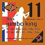 Rotosound phosphor bronze jk 12-string acoustic guitar strings11-52