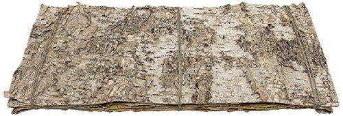 Birkenplatte 50 x 25 cm, 5 Stück, creme (Birke Tischsets)