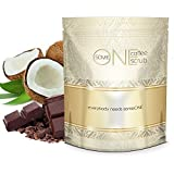 someONE Cacao Coconut Anti Cellulite Kona Coffee Scrub with Dead Sea Salts - 24 Ounces - All Natural (Cacao Coconut Fragrance) - Coffee Scrubs Are Great Body Scrubs for Reducing Cellulite and Stretch Marks by someONE