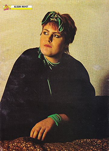 Colour Pin Up Poster 11x8 Alison Moyet in the 80s
