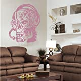 Indigos 4052166169530 Wandtattoo w922 DJ Ghost Dunkelheit Wandaufkleber 120 x 97 cm, violett
