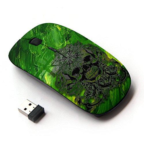 KOOLmouse [ Mouse Senza Fili Ottico 2.4G ] [ Heavy Metal Skull Forest ]