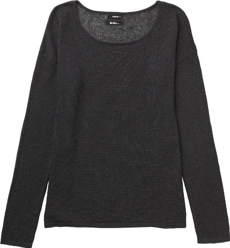 Burton Damen Pullover Women's Bubble Sweater Heather True Black