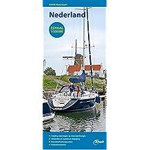 Waterkaart Nederland (Niederlande) 1 : 320 000 (ANWB waterkaart)