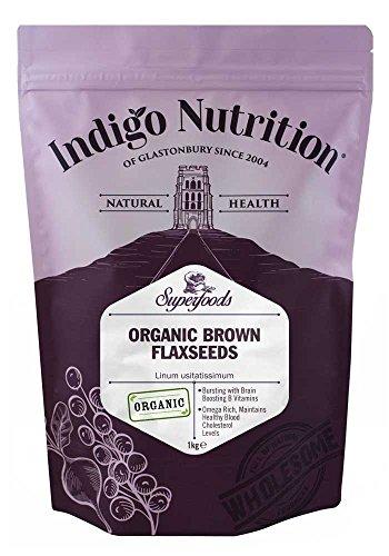 Indigo Herbs Braune Bio Leinsamen 1kg