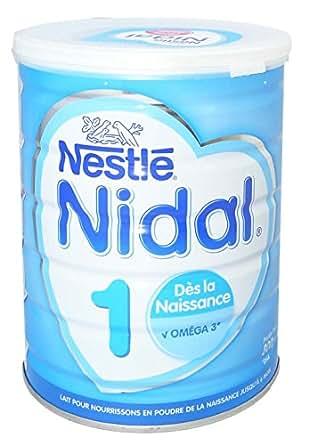 Nestlé Nidal 1 Dès la Naissance Jusqu'à 6 Mois 800 g