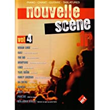 Nouvelle Scene Francaise, Vol 4 : Pour chant, piano et guitare tablatures