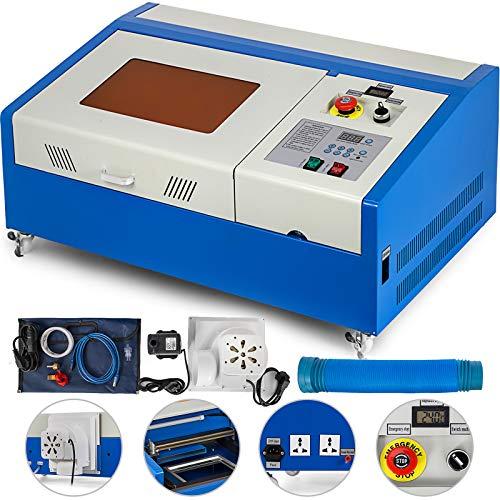Techlifer Schneiden Lasergravurmaschine USB Laser Co2 Drucker Graveur mit USB Tools Kunstwerk Holzbearbeitung fräsen (usb)