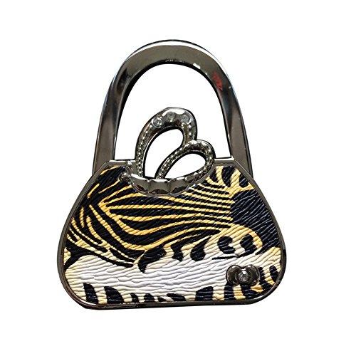 HuaSL Trendy Handtasche Designer Decor Falten Hand Tabelle Haken fur Ausfluge Geldborse Kleiderbugel Pothook fur Ladies gelb (Gelbe Designer-handtasche)