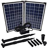 Agora-Tec® AT-20W Solar Teichpumpe
