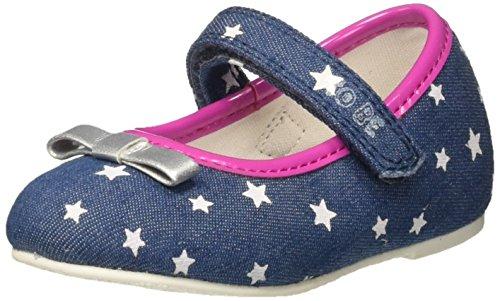 Chicco Baby Mädchen Zilla Krabbel-& Hausschuhe Blau (Jeans)