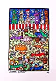 James Rizzi Poster Bild Grafik Junk Yard