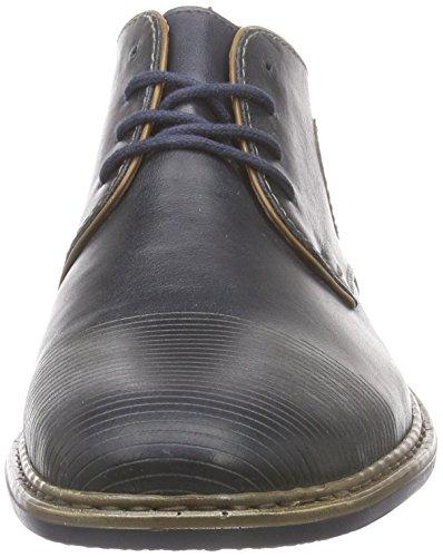 Rieker 13420 Herren Kurzschaft Stiefel Blau (nautic/zimt / 14)