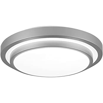 G.W.S/® 12W+4W Blue Edge Lit Square LED Recessed Flat Panel Downlight Ceiling Light Day White LED Driver Included