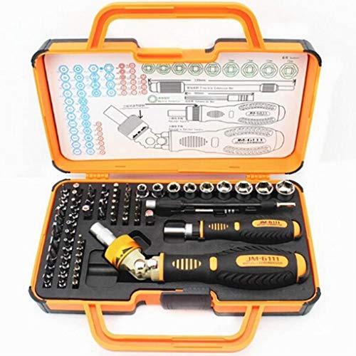 Yongse JAKEMY JM-6111 69 en 1 tournevis Hardware Repair Open Kit Outils de démolition Appareils électroniques Eyeglass